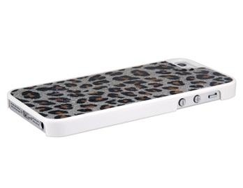 Sparkly leopard phone case