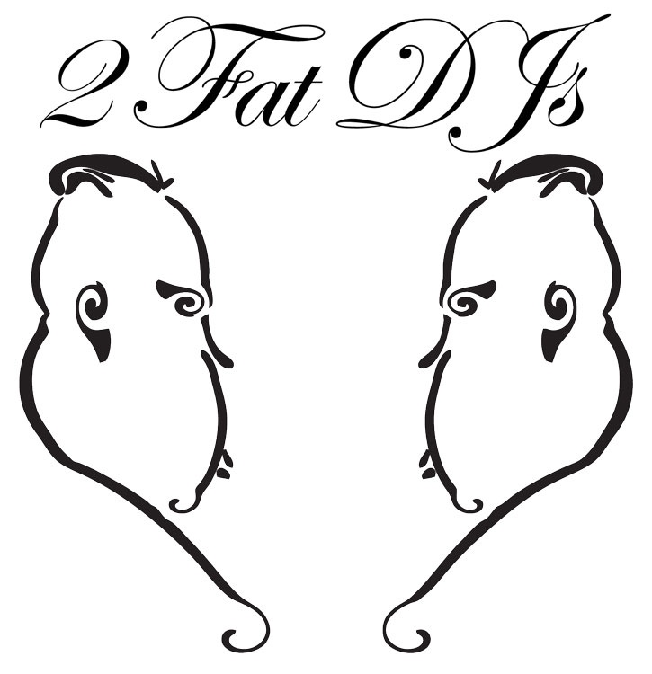 2 Fat DJs logo