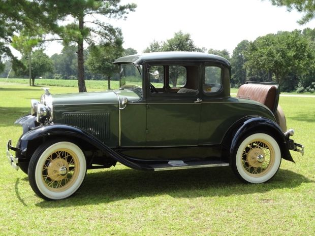 1931 ford model a deluxe coupe with rumble seat image 1 of 13 cars and trucks pinterest. Black Bedroom Furniture Sets. Home Design Ideas