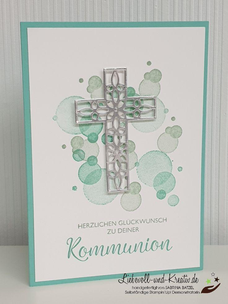 Karte zur Kommunion, Konfirmation oder Firmung, Ei…
