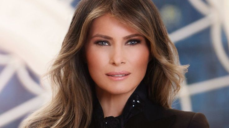 What Melania Trump's official portrait says about the new First Lady