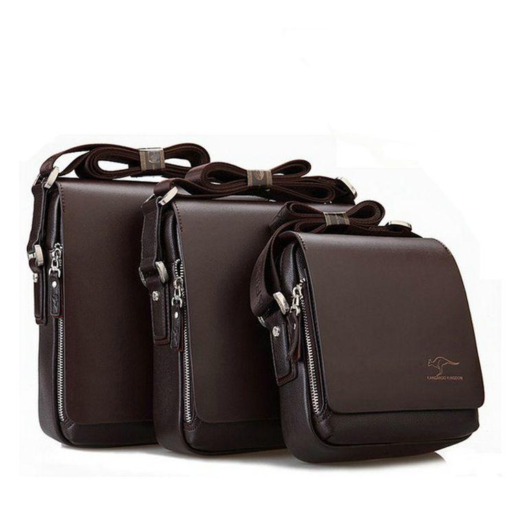 Men messenger bags designer leather briefcases men famous brand high quality shoulder bag office bags for men business bag #Affiliate