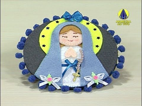 Sabor de Vida | Pêndulo Nossa Senhora de Lourdes por Edilmara Santiago -...