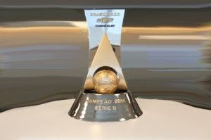Novo troféu do Brasileirão Série B
