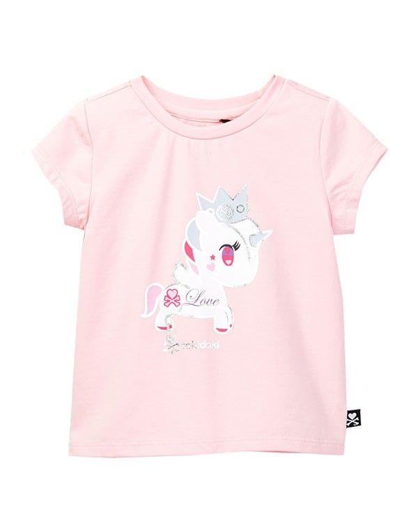 tokidoki Bambino Lolopessa Unicorno Short Sleeve Tee