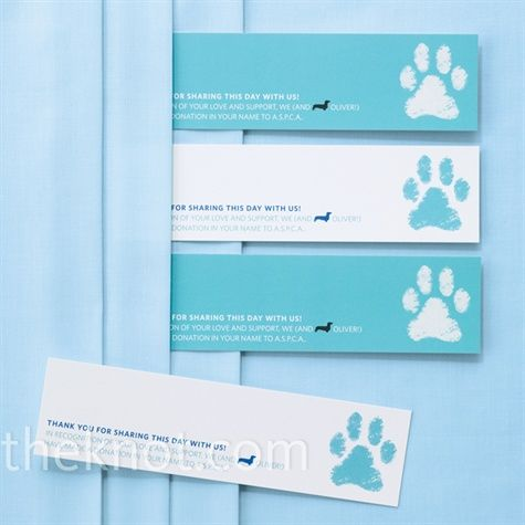 I like the idea of using a Chloe paw print!