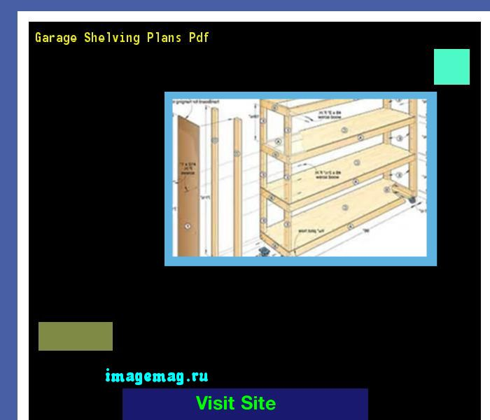 Garage Shelving Plans Pdf 114221 - The Best Image Search