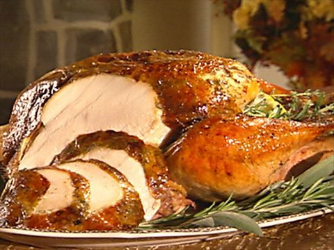 Food Network Brined Herb Roasted Turkey