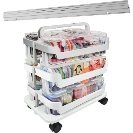 deflecto Storage Caddy Kit, White | Pinterest