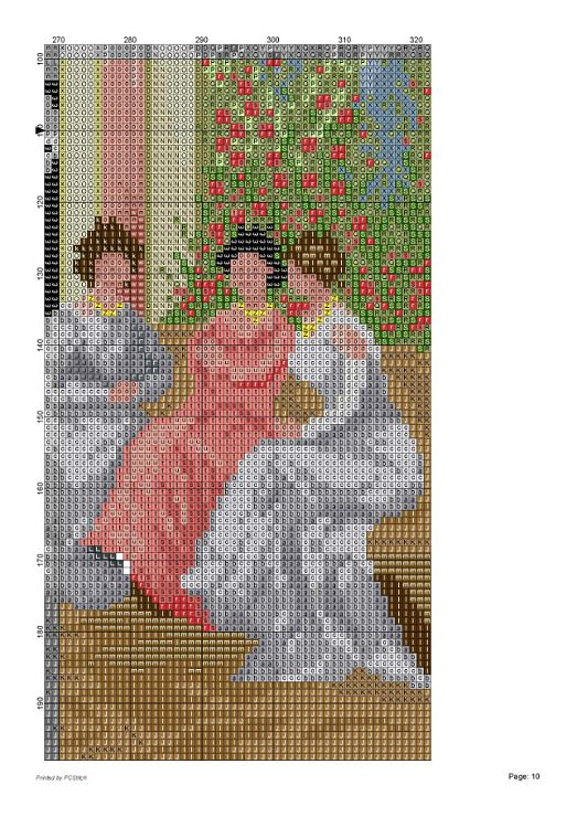 Mejores 136 imágenes de mujeres antiguas en punto cruz en Pinterest ...