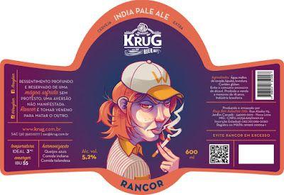 All Beers: Krug Bier lança série de cinco rótulos inspirados na antropologia