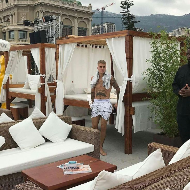 Photo of Justin Bieber spotted out in Monaco. (June 23) 😍💜