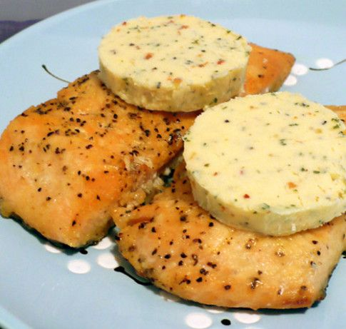 Compound butter is an incredibly easy, yet, impressive way to season meat, fish, and poultry.  Louisiana Compound Butter is my favorite; it is really good on grilled steak, but it is extraordinary on grilled salmon!