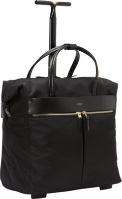 KNOMO London Sedley Rolling Laptop Bag Black - via eBags.com!