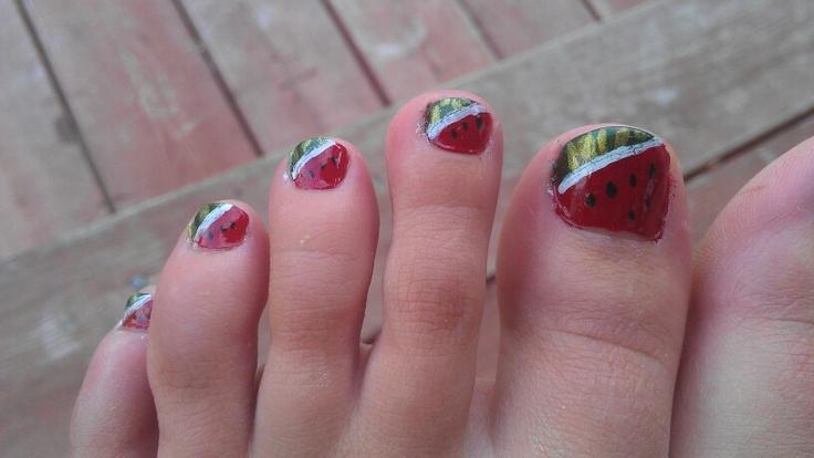 Mes propres orteils l'été derniers :)