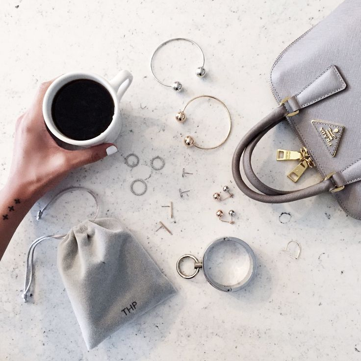 Morning coffee rituals and, of course, some THP goodies to get through the day! #thpshopco