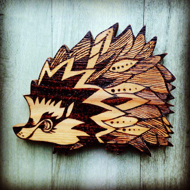 Harriet Hedgehog in Pine - not an original design