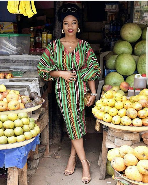 Check Out This Lovely Simple Ankara Gown Styles - DeZango Fashion Zone