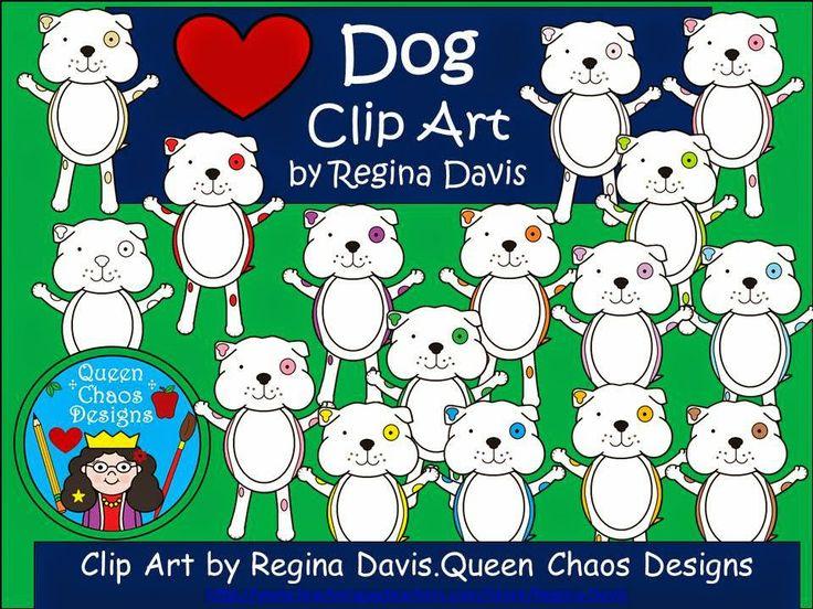$ - Dog Clip Art. Enjoy! Regina Davis aka Queen Chaos at Fairy Tales And Fiction By 2