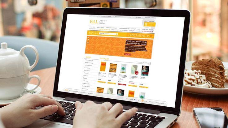 E-Commerce desenvolvido para o Instituto Paulo Freire, pela Tupiniquim Design
