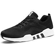 Αντρικό+Αθλητικά+Παπούτσια+Ανατομικό+Άνοιξη+Φθινόπωρο+Τούλι+Περπάτημα+Αθλητικό+Κορδόνια+Επίπεδο+Τακούνι+Μαύρο/Άσπρο+Μαύρο/Κόκκινο+–+EUR+€+51.00