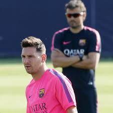 Bandar Bola Piala Dunia 2014Bandar Bola Piala Dunia 2014 – Luis Enrique mengungkapkan bahwa Barcelona tak pernah berpikir soal masa depan tanpa Lionel Messi sebab pemain tersebut sudah menjadi lambang untuk Barca.