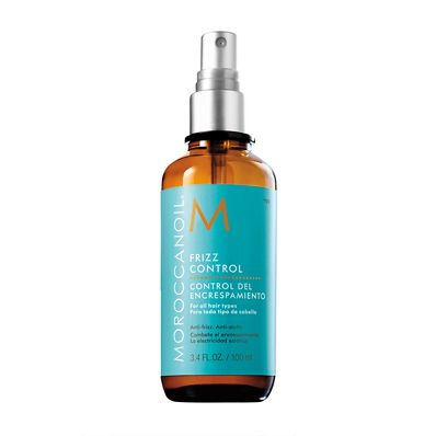 Before I blow dry my hair I spray this all over and it makes my hair firzz free and shiny. Moroccanoil Frizz Control #HairToFallFor