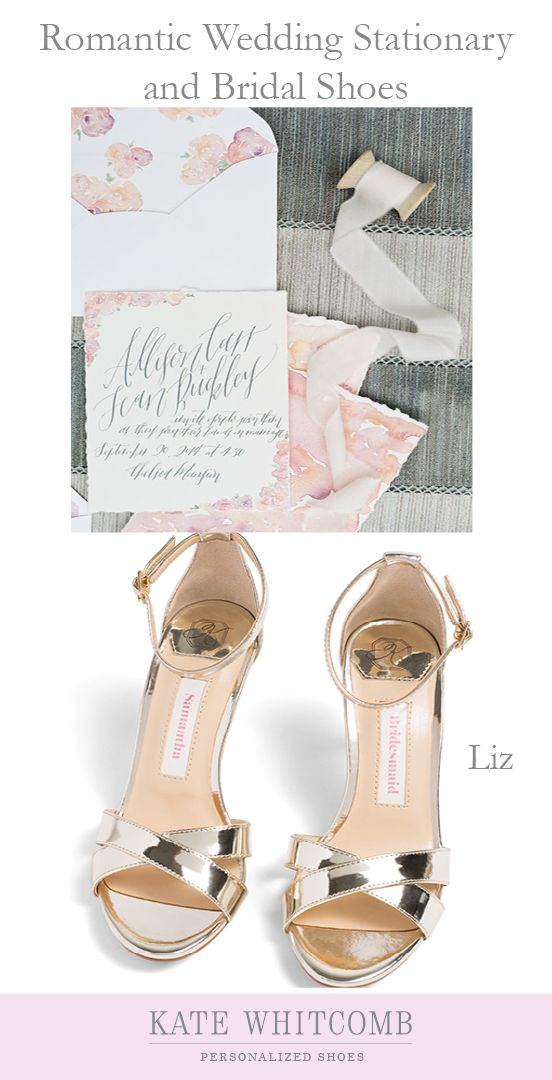 a9a459e8de11 Pin by Kate Whitcomb Shoes on Wedding Stationary in 2018