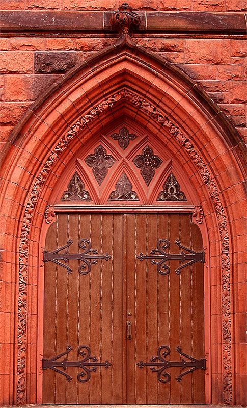 Church door II - Portland, Maine. There are so many beautiful churches in Maine