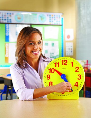 Learning Resources Big Time 12-Hour Demonstration Clock $19.99