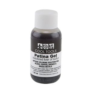Cool Tools Patina Gel - Liver of Sulfur in Gel Form - 1.25 oz