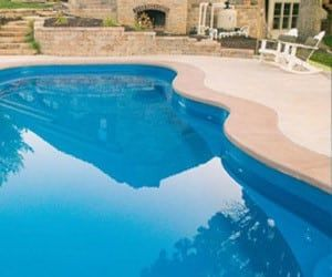 26 best palm beach style fiberglass pools images on for Pool design companies near me