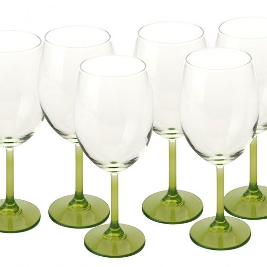 Arcobaleno Set of 6 Glasses by Maxwell & Williams