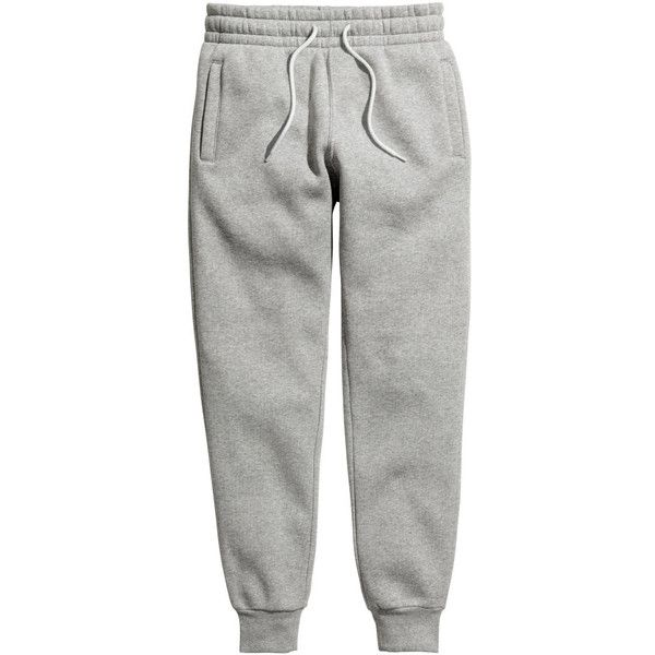 H M Sweatpants 19 99 20 Liked On Polyvore Featuring Activewear Activewear Pants White Sweat Pantalones De Chandal Ropa Casual Hombres Moda Ropa Hombre