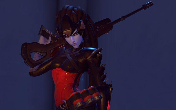 ArtStation - Overwatch Preorder Widowmaker Noire, Airborn Studios