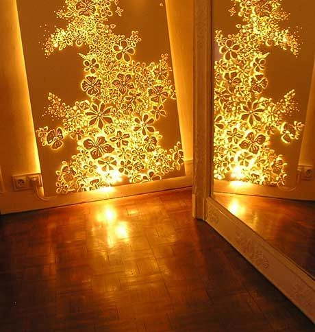 This is what I am going to do for the windows with the blinding west sun in the evening...
