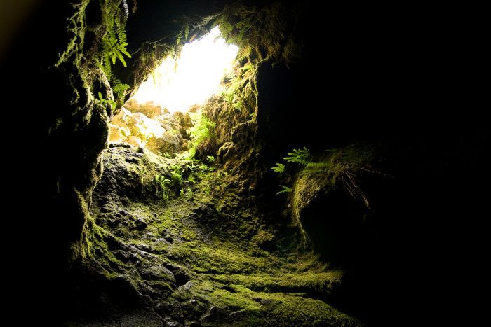 9. Explore the Ape Caves by Mount Saint Helens.
