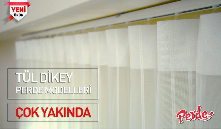 Perde modasını ve inovativ çözümleri her zaman en yakından takip eden Perdemania, en yeni ürünü olan Tül Dikey Perde Modelleri ile çok yakında... Takip etmeye devam edin :)