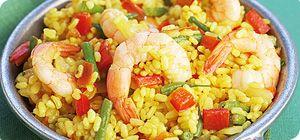 Seafood paella syn free