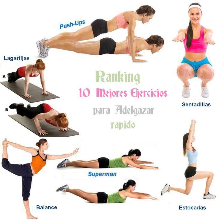 Como bajar de peso en una semana haciendo ejercicios en casa