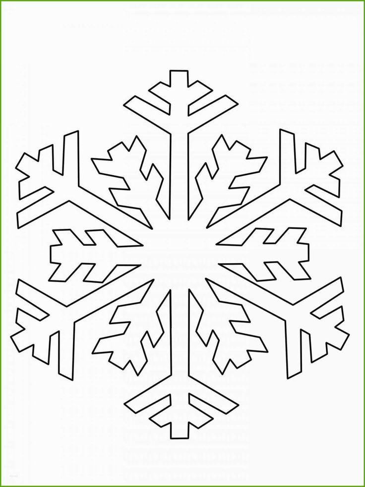 Authentisch Schneestern Vorlage Schneeflocke schablone