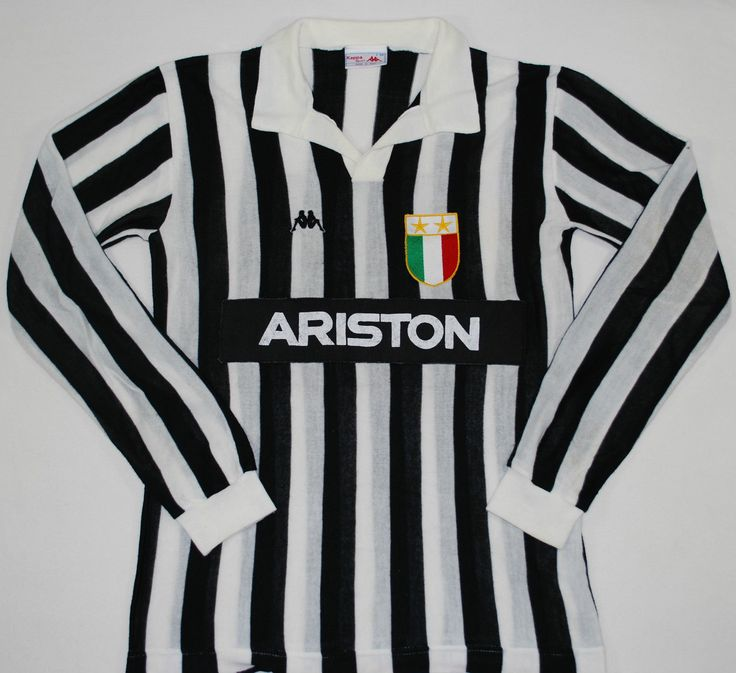 1984-1995 JUVENTUS KAPPA HOME FOOTBALL SHIRT (SIZE L) | eBay