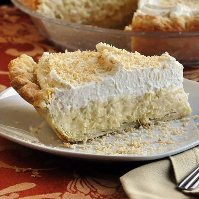 LOW CARB Coconut Cream Pie~      Filling  3 cups unsweet coconut milk  1/3 cup almond flour  1 cup Splenda  pinch of salt  1 cup Unsweetened Fine Coconut  3 Egg Yolks  4 TB Butter  2 t Vanilla Extract  1/4 t Almond Extract  Chill at least 3 hours    Whip Cream Topping  1 Cup Whipping Cream  1 t Vanilla  3 TB Splenda