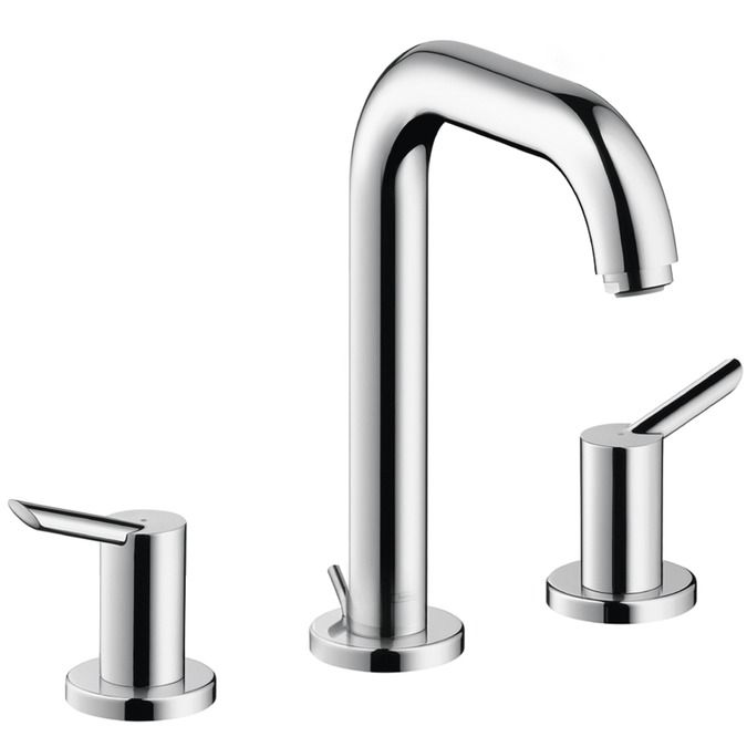 Image Gallery For Website Hansgrohe Focus S Widespread Bathroom Faucet with EcoRight and Quick Clea Chrome Faucet Lavatory Double Handle