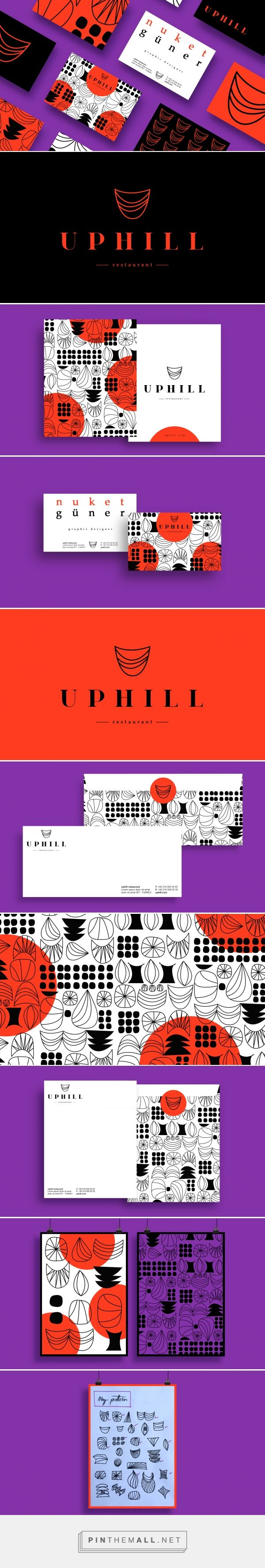 Uphill Restaurant Branding by Nuket Guner Corlan