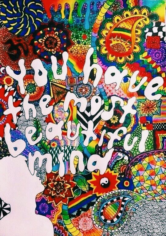 You have a beautiful mind.