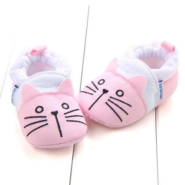 Unicorn Soft Shoes Pram Slippers Baby Soft Sole Shoes Unicorn Baby Slippers
