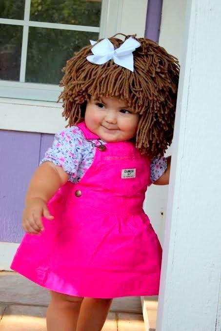 Col bebé inspirada en parche sombrero gorro de invierno foto