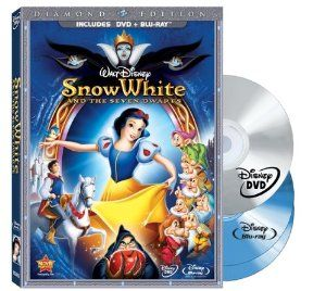 Amazon.com: Snow White and the Seven Dwarfs (Three-Disc Blu-ray/DVD Combo + BD Live w/DVD packaging): Adriana Caselotti, Harry Stockwell, Lu...
