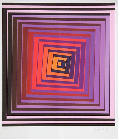 Exposição de Gravuras de Victor Vasarely (1908-1997) – Perez & Prado